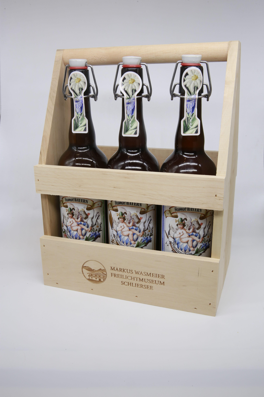 Biere im Bierträger