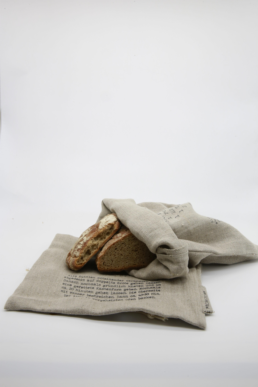Brotbeutel Leinen