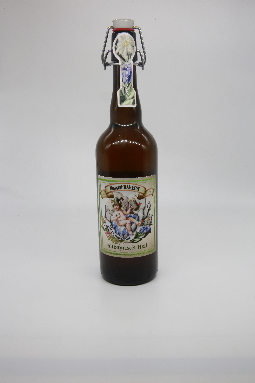Bier Altbayrisch Hell 0,75l