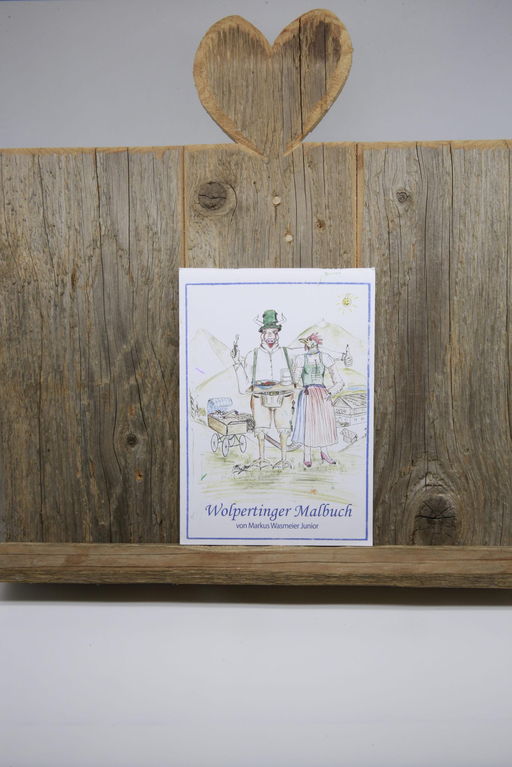 130.030 Wolpertinger Malbuch