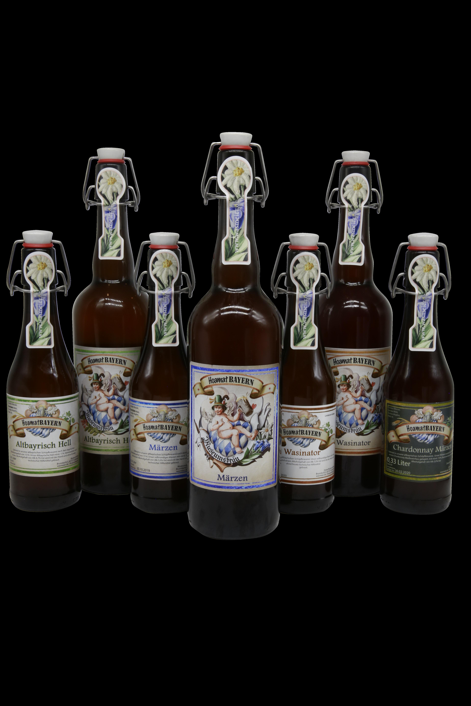 Biere Sammlung ausgeschnitten